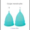 Coupe menstruelle Pastel en Silicone de qualité médicale + Boîte + Pochette-6