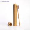 Brosse à dents de voyage + Boîte cylindre en Bambou naturel-2.1