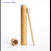 Brosse à dents de voyage + Boîte cylindre en Bambou naturel-3.1