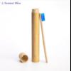 Brosse à dents de voyage + Boîte cylindre en Bambou naturel-4.1