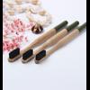Brosse à dents «Anūpa» manche coloré, en Bambou naturel-9