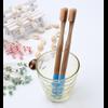 Brosse à dents «Anūpa» manche coloré, en Bambou naturel-10