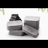 Boîte de 200 Lingettes démaquillantes Anti-bactériennes, lavables en fibres de Bambou-7