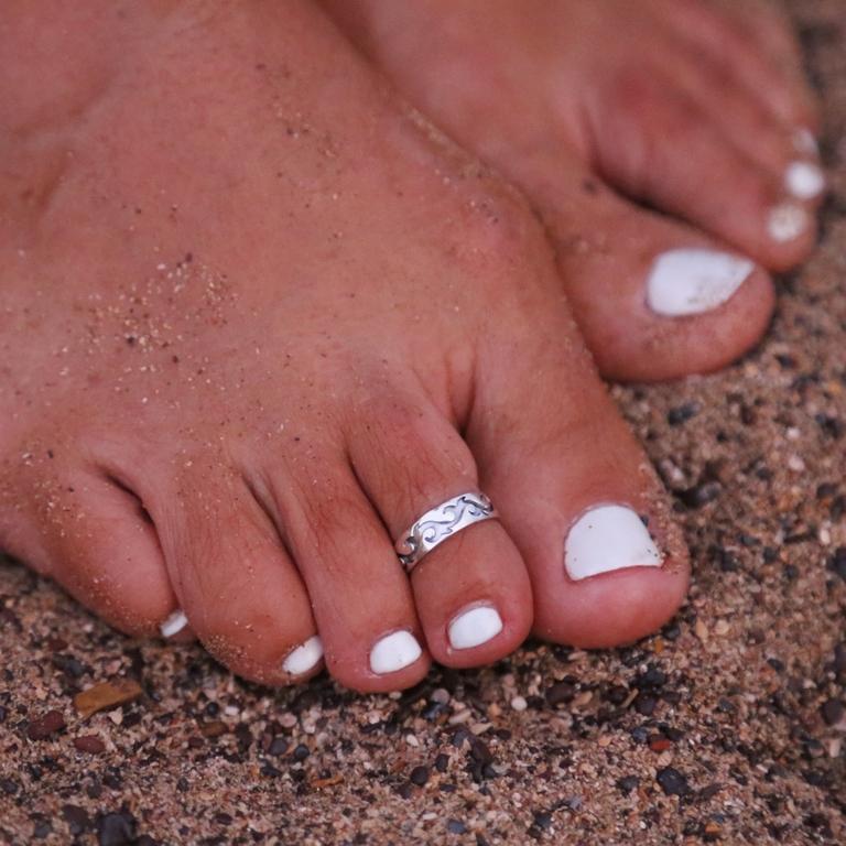 Sexy-femmes-dame-l-gant-r-glable-Antique-plaqu-argent-m-tal-bout-ouvert-anneau-doigt