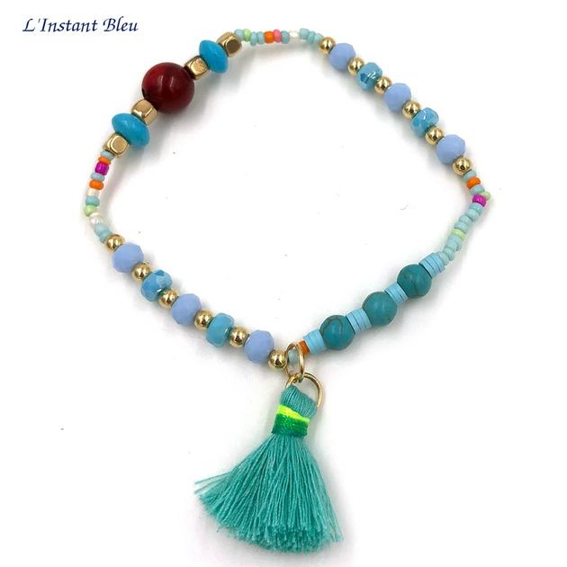 Bracelet Bohème «Sarasvān» Esprit de la Mer-2.1