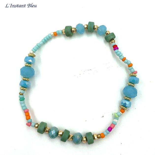 Bracelet Bohème «Sarasvān» Esprit de la Mer-3.1