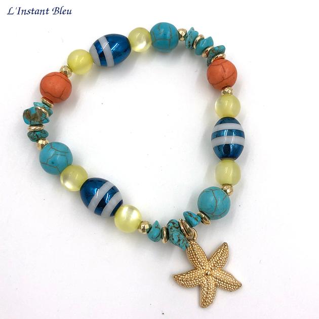 Bracelet Bohème «Sarasvān» Esprit de la Mer-4.1