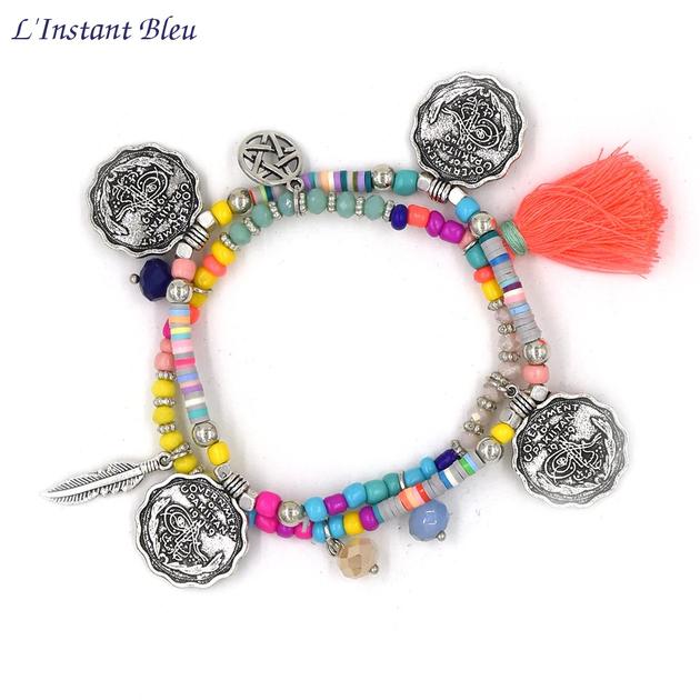 Bracelet Bohème « Manā » Esprit libre-1.1