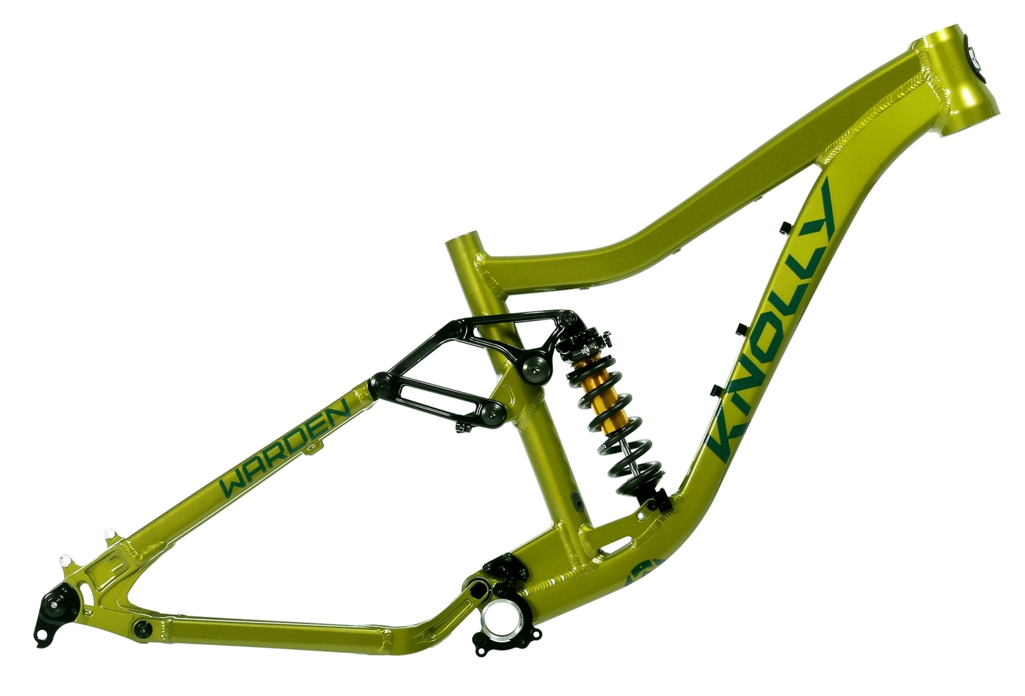 Warden Alloy Green on Green DB-IL Coil side