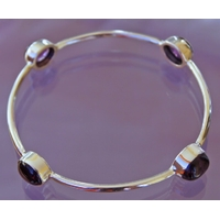 Bracelet 4 pierres ameth