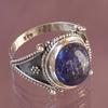 Bague Zaina en Lapis lazuli et argent 925