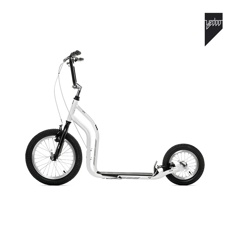Trottinette New City Noir Blanc - YEDOO