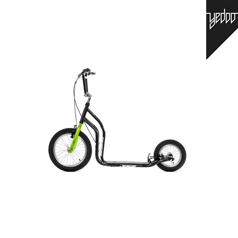 Trottinette New City Noir vert- YEDOO