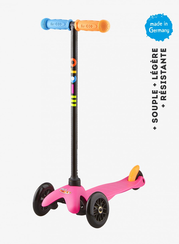 Trottinette Mini Micro Sporty Rose  Pop Neon- MICRO