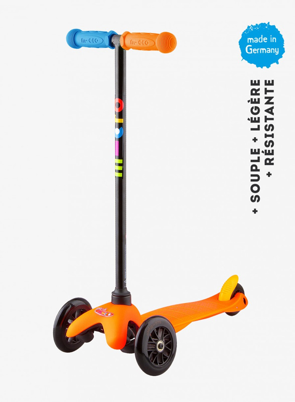 Trottinette Mini Micro Sporty Orange Pop Neon- MICRO
