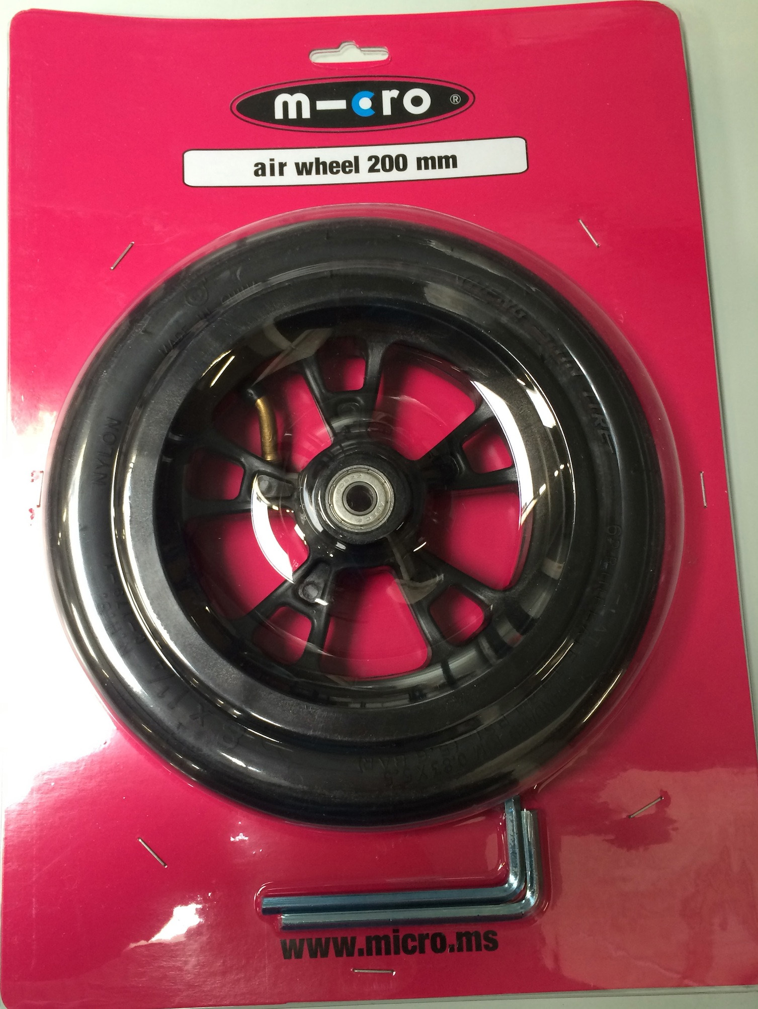 Roue Flex air 200mm - MICRO
