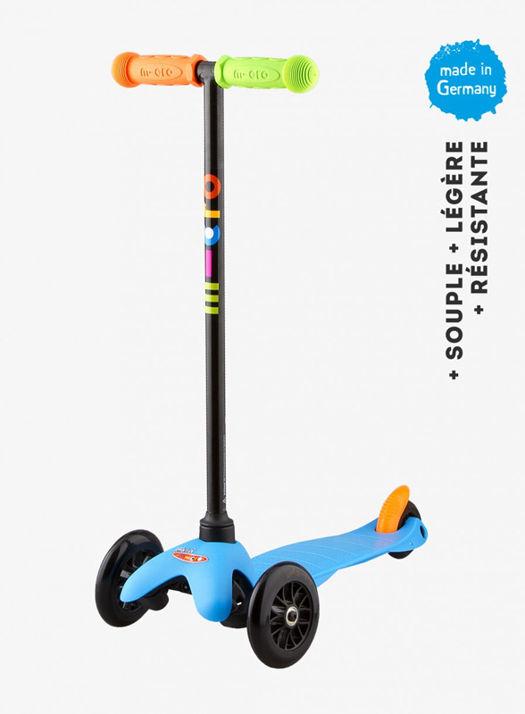 Trottinette Mini Micro Sporty Bleu Pop neon- MICRO