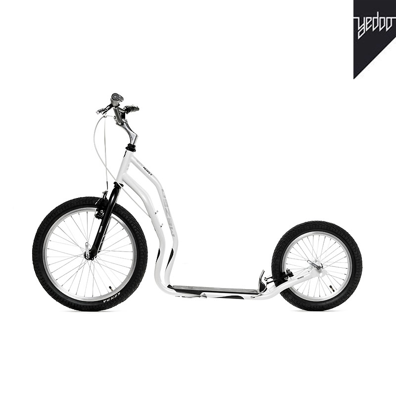 Trottinette NEW Mezeq V Brake Noir/Blanc