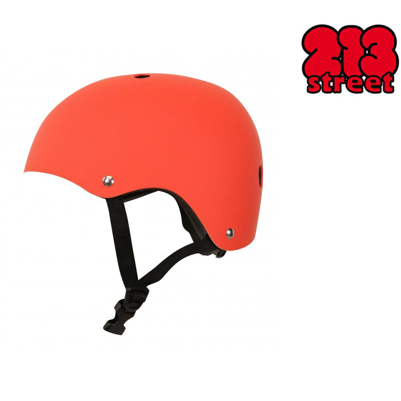 Casque 213Street Orange Mat S  - 213STREET