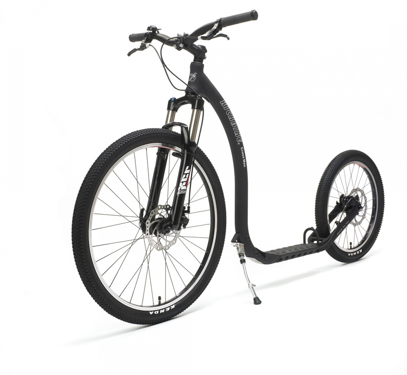 Trottinette Kickbike Cross Max DISC 20D noir