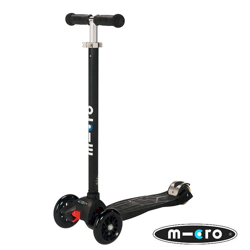 Trottinette Maxi Micro Noire - MICRO