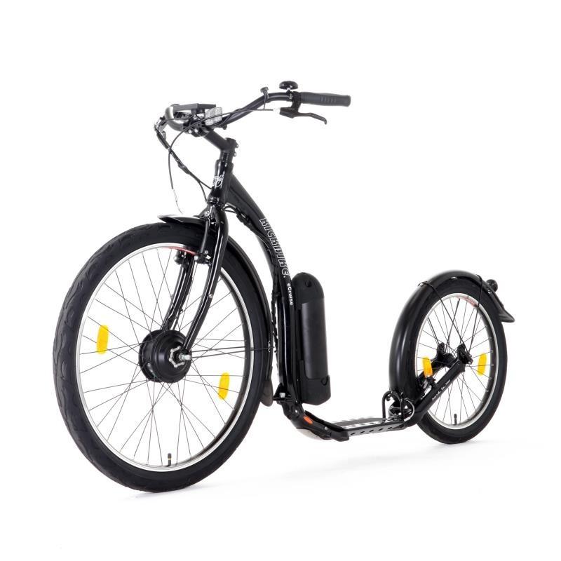 Kickbike e-Cruise MAX 20 Aluminium Noir Mat Electrique