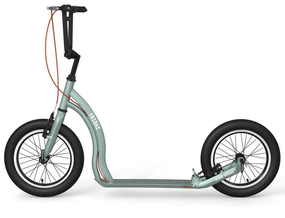 Yedoo Friday Vert-Amandee roues de 16
