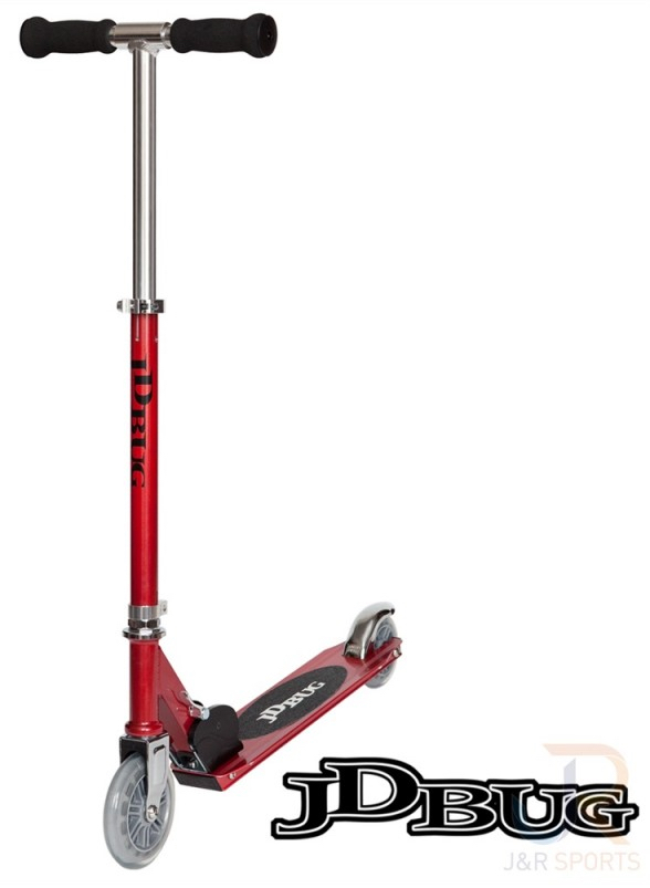 Trottinette JD Bug Junior MS100 Rouge
