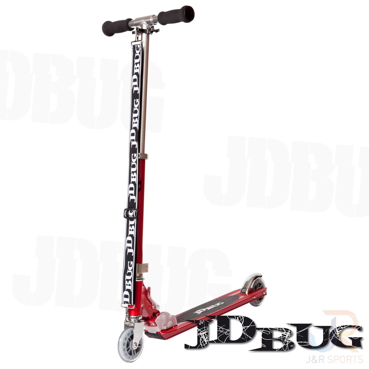 Trottinette MS130  Rouge - JD BUG