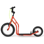 yedoo trottinette rouge new wzoom frein avant arrière