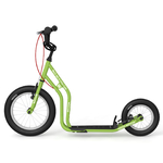 yedoo patinette verte new wzoom roues gonflable