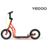 trottinette Yedoo Tidit Rouge guidon cross