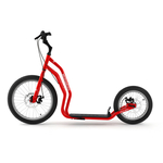 trottinette new mezeq yedoo cross tout terrain rouge