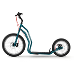 patinette new mezeq yedoo roue gonflable bleu