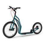 trottinette new mezeq yedoo grandes roue bleu
