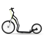 trottinette yedoo noire pneu gonflable