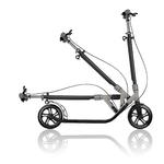 ONE-NL-230-ULTIMATE-gris métal-trottinette-grand-roue-pliable-pour-adulte-globber 5
