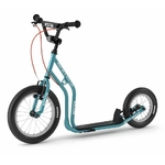 Yedoo New Wzoom Bleue Canard teal trottinette grande roue 3 quart