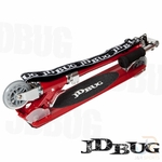 jd bug ms130 rouge avec sangle de portage