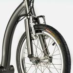 swifty zero trottinette anthracite-roue avant frein vbrake