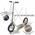 Trottinette pliable pneu gonflable Bamboo XXL