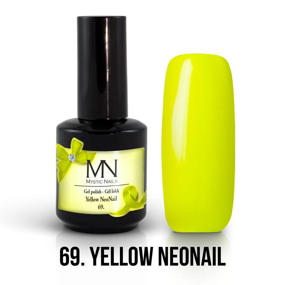 069- YELLOW NEONAIL