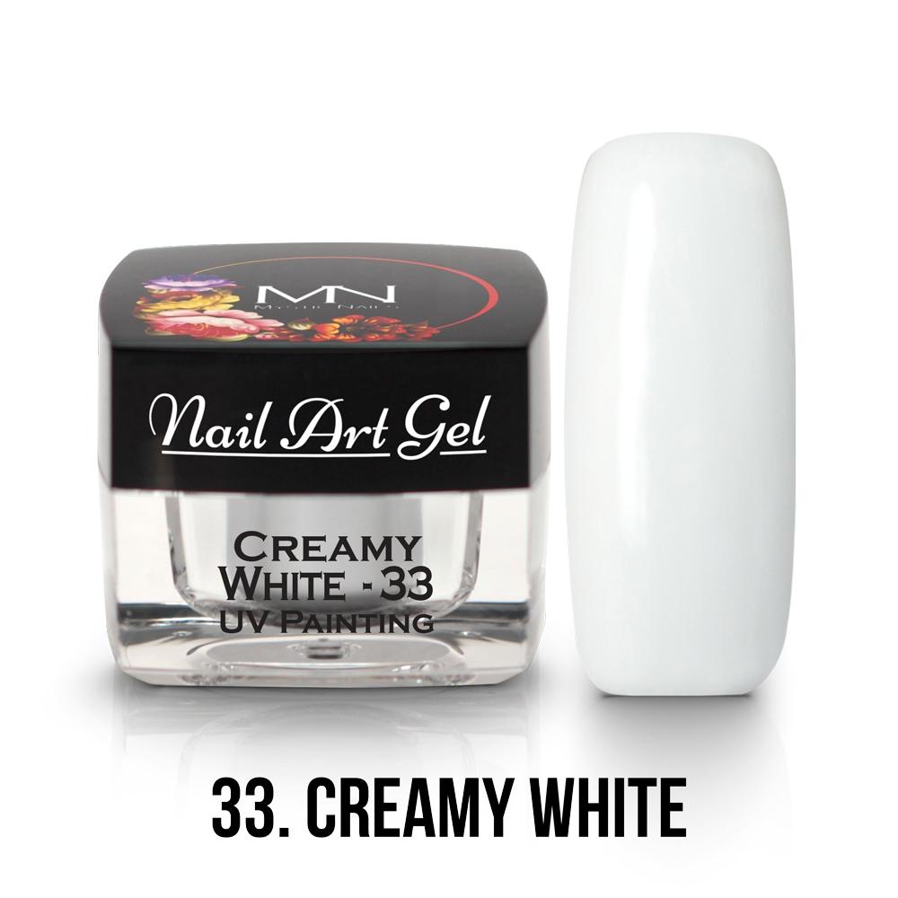 33 Creamy White