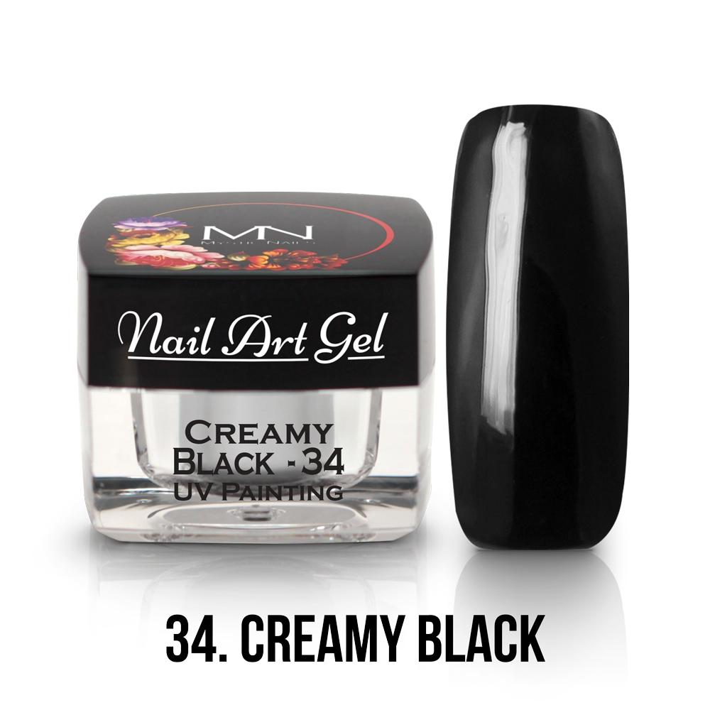 34 - Creamy Black