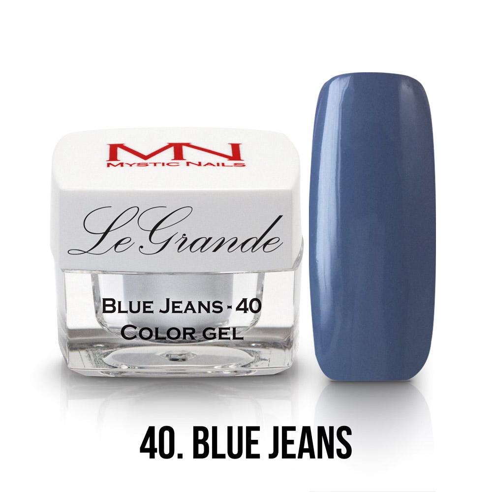 40 - BLUE JEAN
