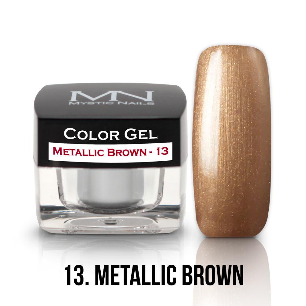 13- METALIC BROWN