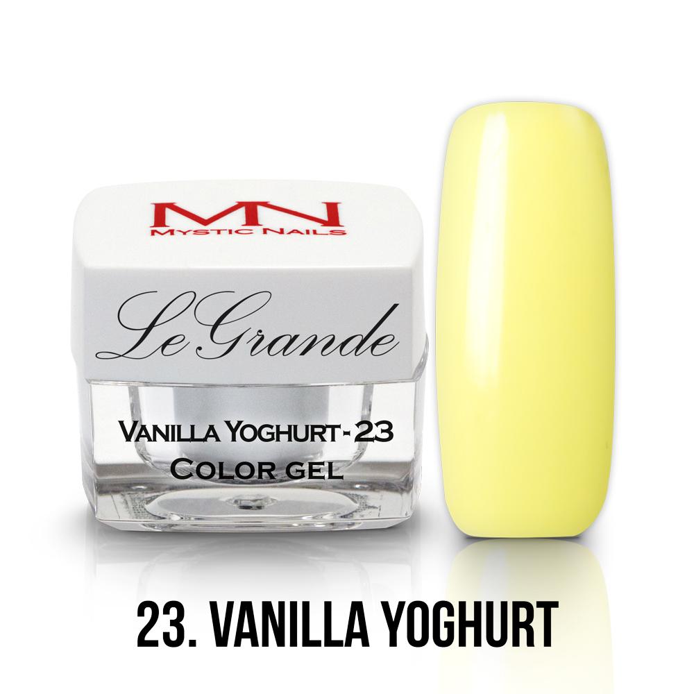 23 - Vanilla Yoghurt