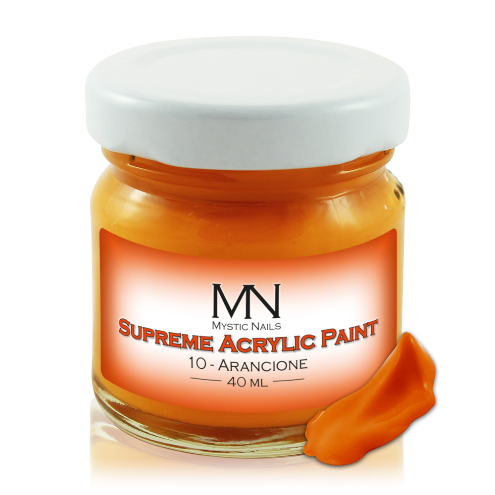 Supreme Acrylic Paint - no.10. Arancione - 40ml
