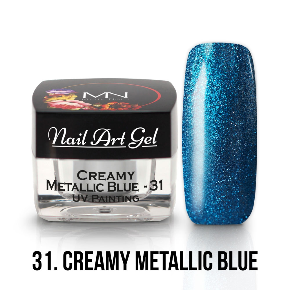 31 - Metallic Blue