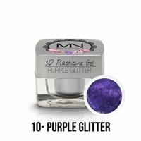 3D Plasticine Gel - 10 - Purple Glitter